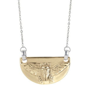 Lucky Scarab Necklace