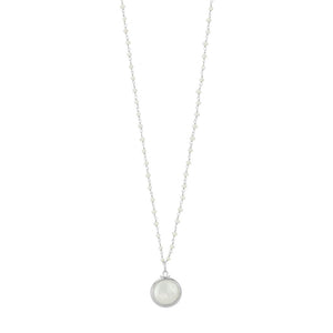 Lunar Pearl Necklace