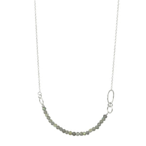 Misty Morning Labradorite Necklace