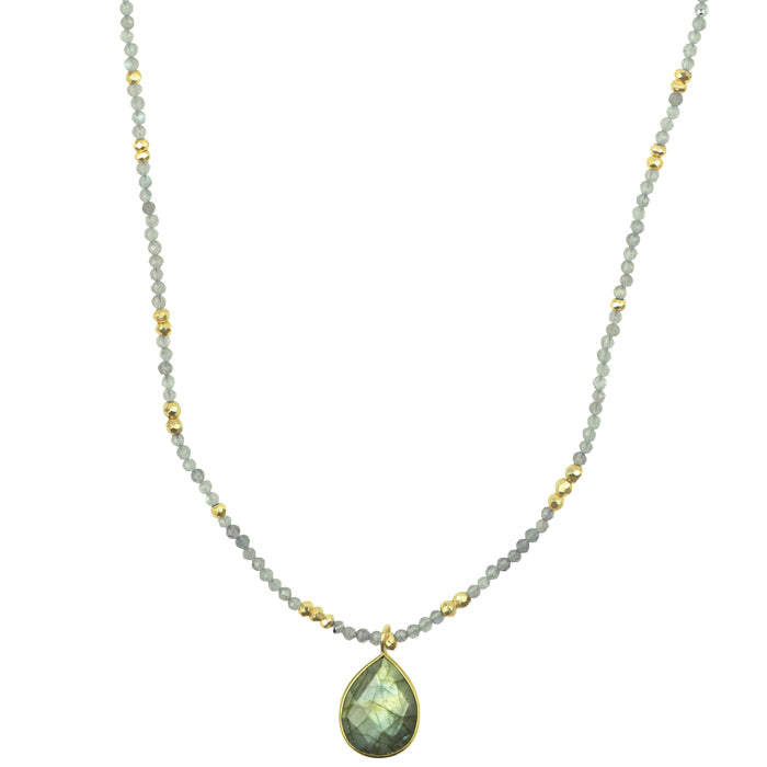 Bountiful Labradorite Necklace