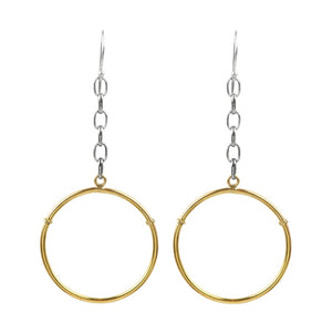 Big Sur Suspended Hoop Earring