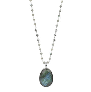 Strength Necklace - Intuition in Silver