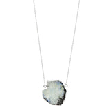 Moonscape Necklace in Silver