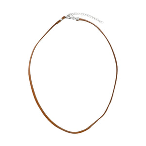 Deerskin Leather Necklace