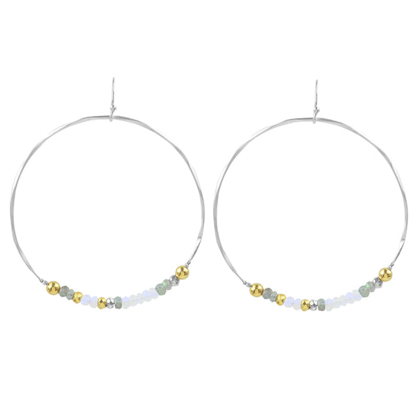 Bountiful Hoop Earrings