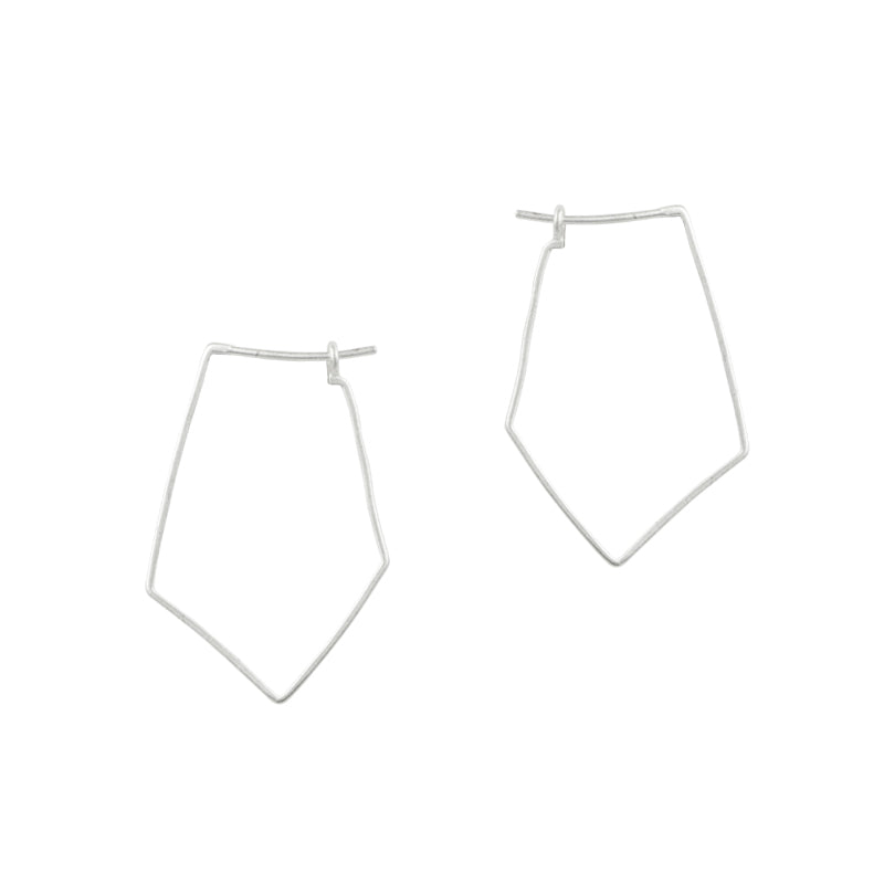 Polygon Hoop Earrings