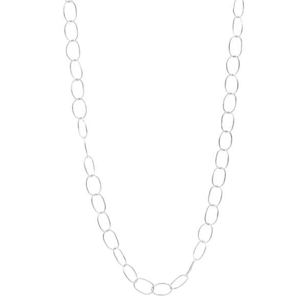 Chain of Being Necklace in Silver