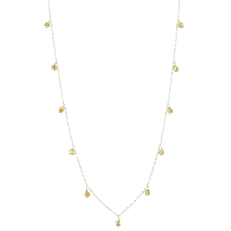 "Falling Stars Necklace - 34"" L"