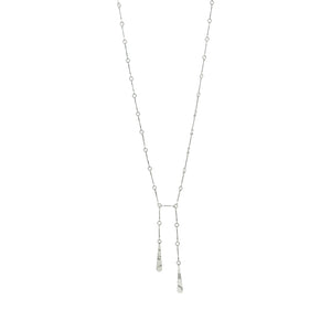 Linked Lariat Necklace