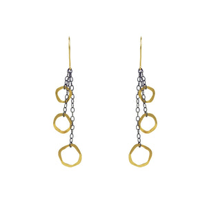Tres Amoebas Earrings