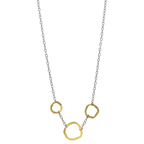 Tres Amoebas Necklace