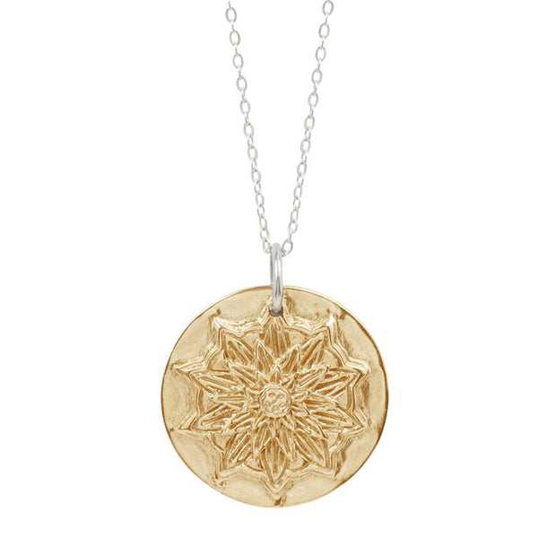 True North Mandala Necklace