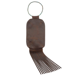 Fringed Leather Bracelet Bag