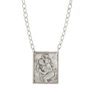 Vintage St. Christopher Necklace - #11