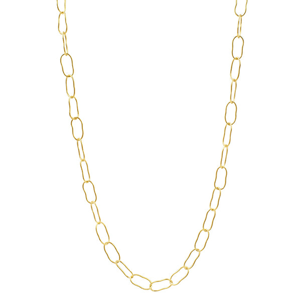 Magic Beans Layering Chain Necklace in Gold