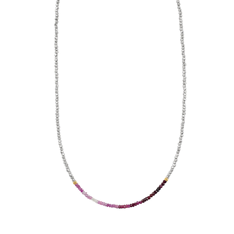 Morning Sky Ruby Necklace