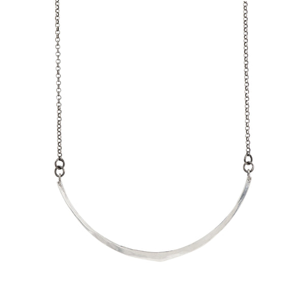 Sterling Smile Necklace