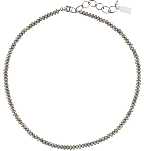 Forever Sterling Beaded Necklace