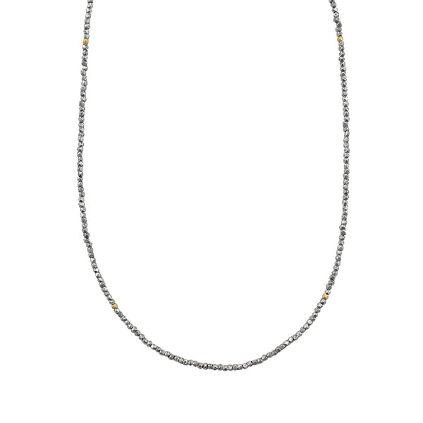 "Heirloom Sterling Strand Necklace in 20-22"" L"