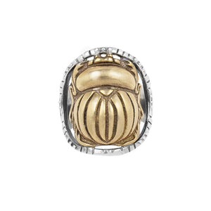 The Sacred Scarab Ring