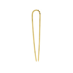 Stone Trio Hair Pin in Raw Diamond & Gold | Available to Ship 11/10