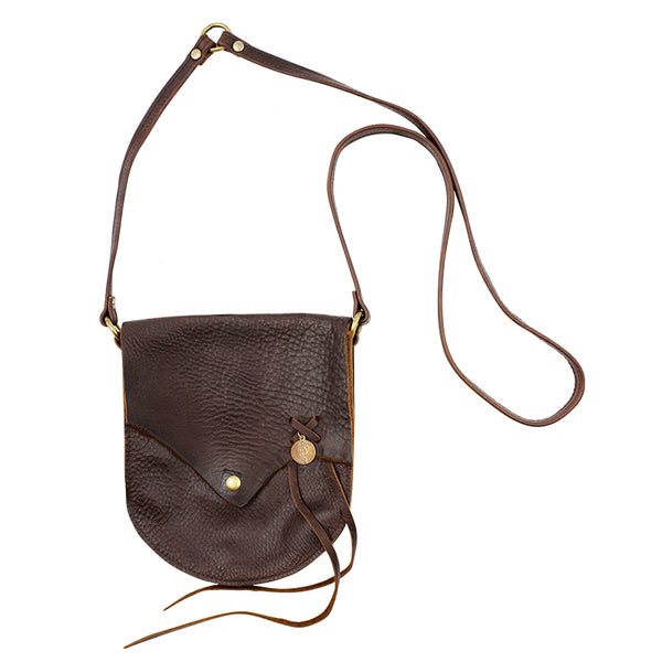 Saintly Cross-Body Bag with Vintage Saint Charm
