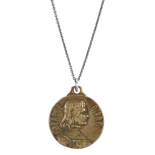 Vintage Joan of Arc Saint Necklace #20