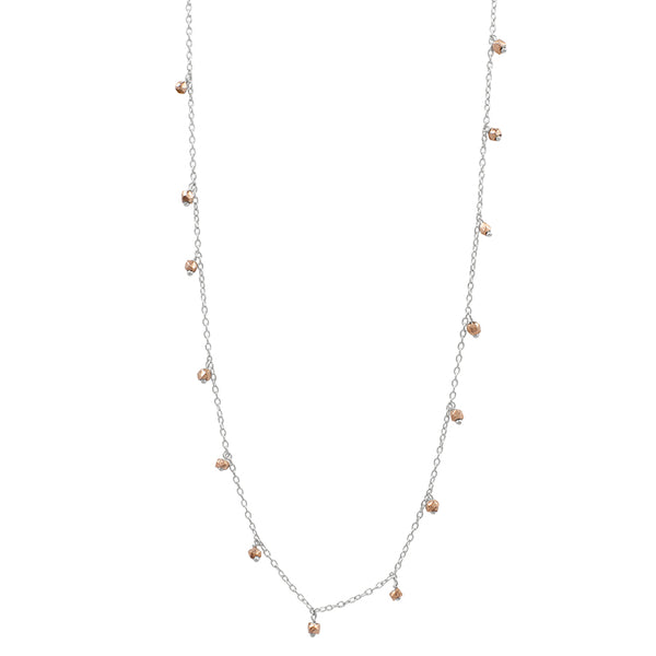 "Shooting Star Necklace - 34"" L"