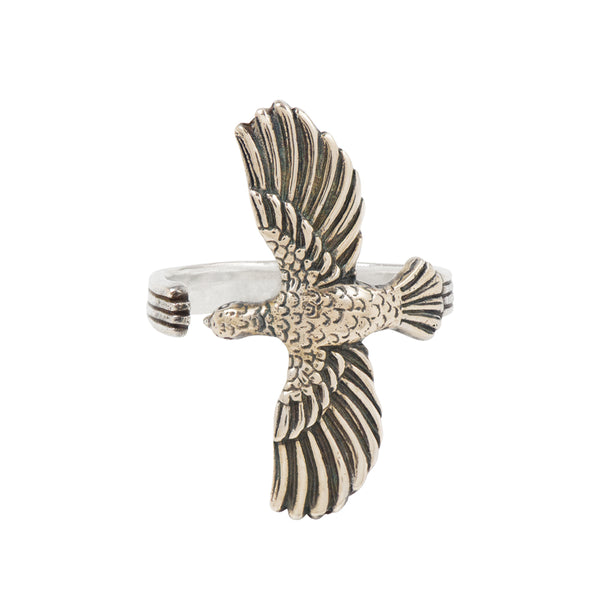 Soaring Hawk Ring