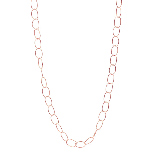 Chain of Being Necklace in Rose Gold