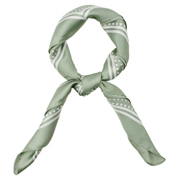 Soothing Silk Bandanna in Sage