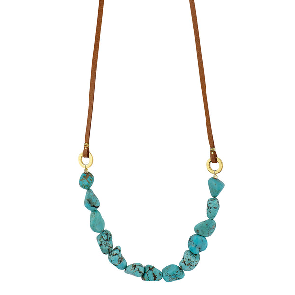 Tethered Turquoise Strand | SOLD OUT