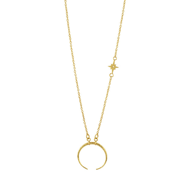 Minor Constellation Necklace in Gold