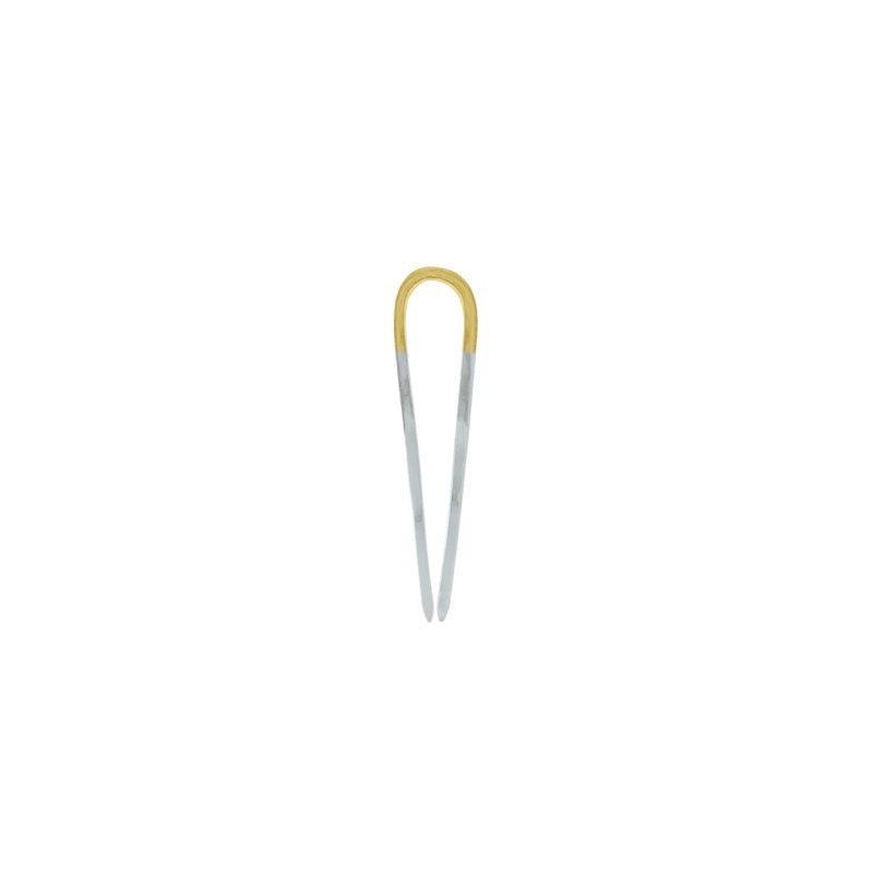 Two-Tone Effortless Hair Pin - Small