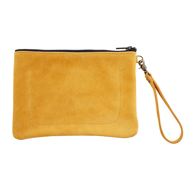 Indispensable Leather Go-Bag in Marigold