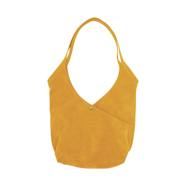 Super Soft Suede Bag in Marigold