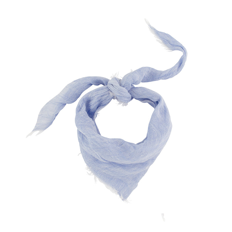Summer Linen Bandanna in Chambray