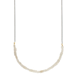 Rutilated Quartz In-Line Necklace