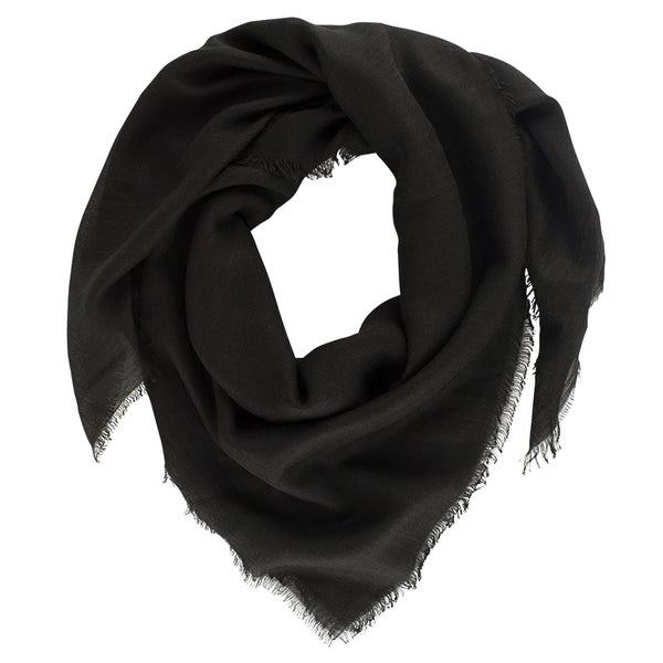 Super Soft Scarf in Ebony