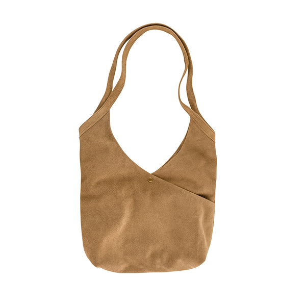 Super Soft Suede Bag in Sand