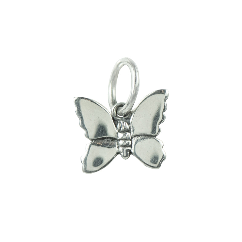 Butterfly Charm in Silver