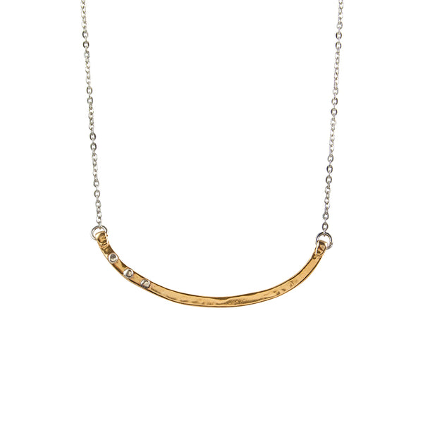 Riveted Balance Necklace