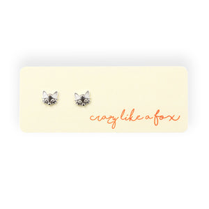Crazy Like A Fox Post Earrings