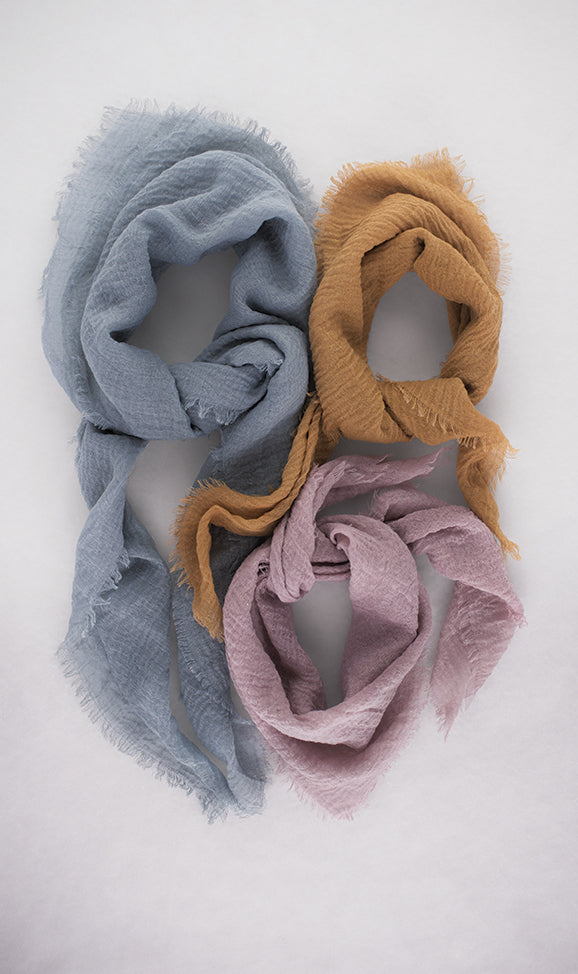 Large Cloud Scarf in Mauve