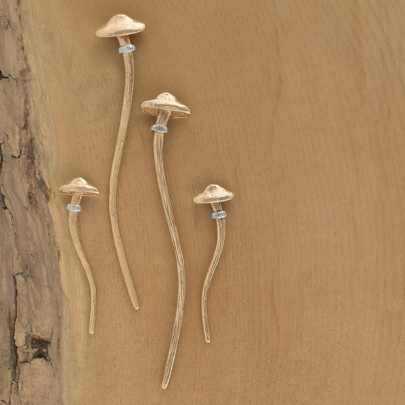 Magic Mushroom Hair Stick - Large
