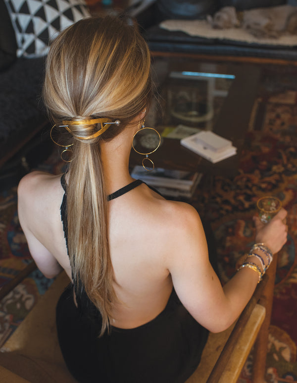 Heirloom Barrette in Gold