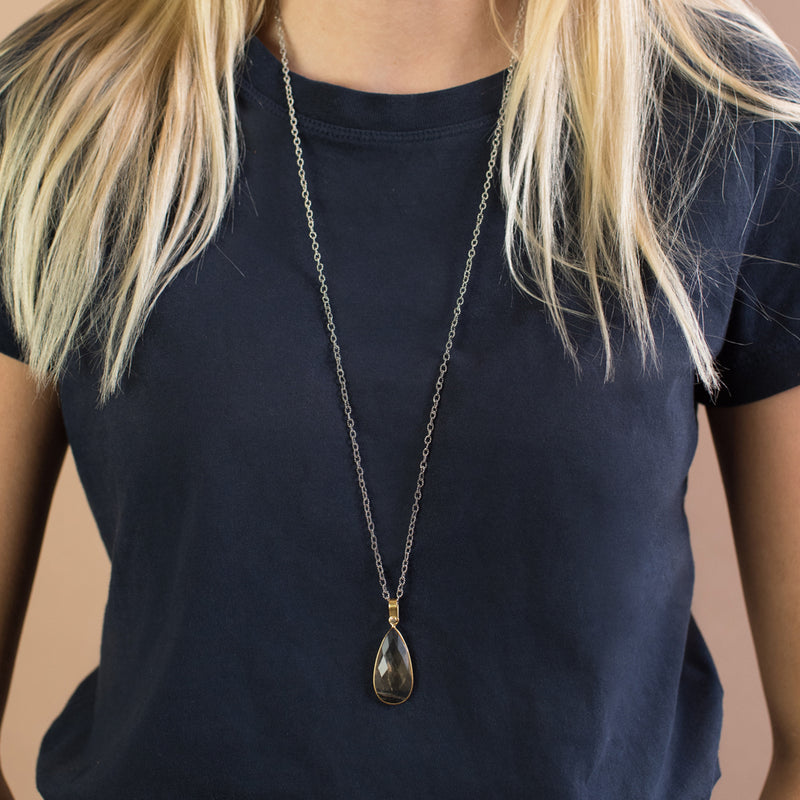 Call Me Protected Necklace - 30""