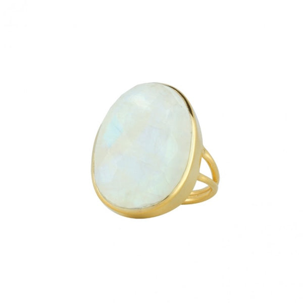 Strength Ring- Empowerment in Gold