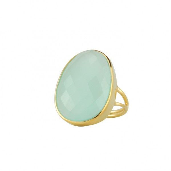 Strength Ring- Effervescence in Gold