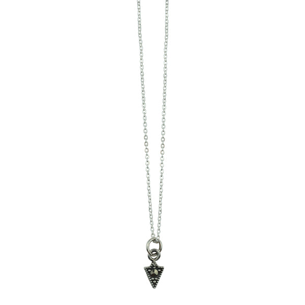Marcasite Arrow Head Necklace